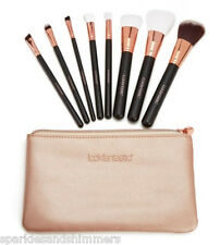 Look Fantastic 8 Piece MAKE UP BRUSH Gift Set KIT In Pink Cosmetics Pouch/Purse