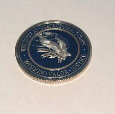 USAF JUDGE ADVOCATE GENERAL'S CORPS WISDOM VALOR JUSTICE CHALLENGE COIN J50