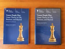 The Great Courses Games People Play Game Theory in Life, Business Dvd's and Book