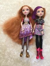 Monster High Doll EVER AFTER POPPY HOLLY O'HAIR RAPUNZEL Sister Twin First Lot