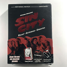 Sin City Deluxe 2-Disc Dvd Collection with Graphic Novel Frank Miller