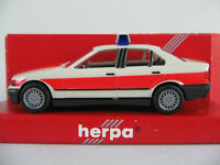 "Herpa 041584 BMW 325i Limousine (1990-1995) ""NOTARZT"" 1:87/H0 NEU/OVP"