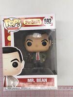 Funko Pop Television: Mr. Bean - Mr. Bean #592 Vinyl Figure NOT MINT BOX P04