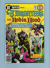 DC SPECiAL #23 THREE MUSKETEERS ROBiN HOOD HiGH GRADE VF/NM BRONZE