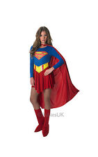 FANCY DRESS COSTUME ~ LICENCED SUPERGIRL 8 - 10 SMALL
