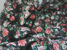 100g Tulle mesh ruffle style fabric scarf Yarn YOUR CHOICE Ret$21