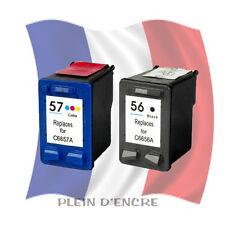 Cartouche d'encre remanufacturée HP 56 XL Noir et HP 57 XL Couleur Gde capacité