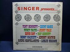 SINGER presents TONY BENNETT Disque Pub CSS 552
