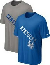 Kentucky Wildcats Youth t-shirt Nike Dri-Fit UK NCAA NWT SEC CATS Gray only