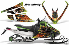 AMR SLED STICKER KIT ARCTIC CAT F SERIES GRAPHICS FIRE