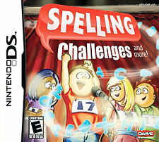 Spelling Challenges and More!  (Nintendo DS, 2007) JUST MISSING SHRINKWRAP