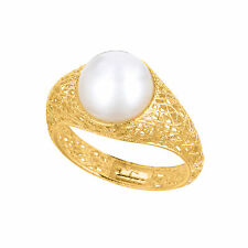 Pearl Solitaire Fine Rings