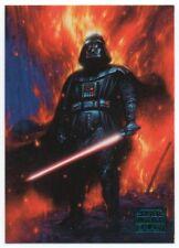 2018 Star Wars Galaxy Blue 100 Darth Vader's Element