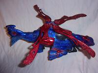 Spider-man Spider Web Copter W/Rapid Fire Gatling Gun 2003 Toy Biz w/o ammo