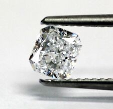 GIA loose certified radiant cut .71ct VVS2 E diamond 5.08x4.66x3.23mm estate