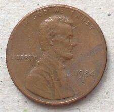 USA 1 cent 1984 D coin