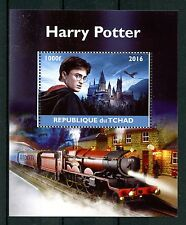 Chad 2016 CTO Harry Potter Hogwart Express 1v M/S Trains Castles Stamps