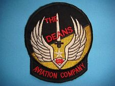 """VIETNAM WAR  PATCH, US 120th AVIATION COMPANY """" THE DEANS """""""