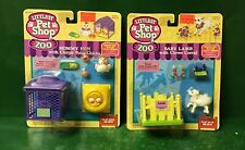 """1995 LITTLEST PET SHOP ZOO:""""BABY LAMB & MOMMY HEN""""NIC BY KENNER"""