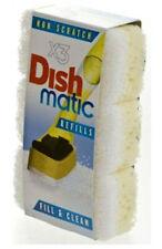 Dishmatic White Heads Non-Scratch Dish Matique & Dish Matic Pack Of 3