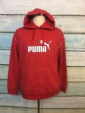 Puma Red Pullover Hoodie Jacket Men's Size Medium
