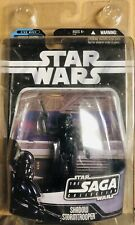 Star Wars Shadow Stormtrooper Saga Collection 3.75 Figure 2006 W/ Protector Case