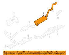 GM OEM-Muffler 15105765
