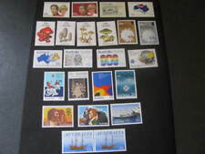Australia Stamps Assorted from 1981-1983 Never Hinged Unused Lot 19