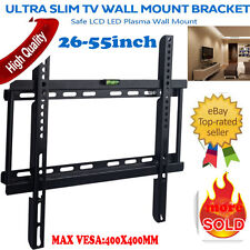 "For Sharp Toshiba Soniq Teac Kogan Plasma LCD LED TV Wall Bracket Mount 26""-55"""