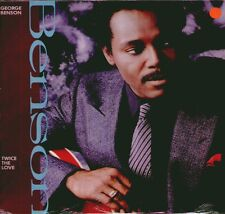 "GEORGE BENSON "" TWICE THE LOVE "" LP SIGILLATO 1988"