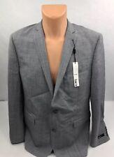BAR III Mens Slim Fit 2 Button Suit Jacket Sport Coat Blazer Gray Size 44R