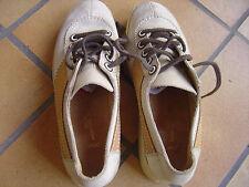 chaussures tout cuir p 37 femme bally bis