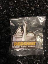 2016 Washington Redskins Season Ticket Member Pin New & Sealed HTTR