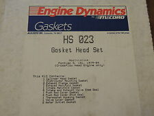 McCord Engine Dynamics HS023 Head Gasket Set Fits Pontiac 151 CID 2.5L 4 Cyl