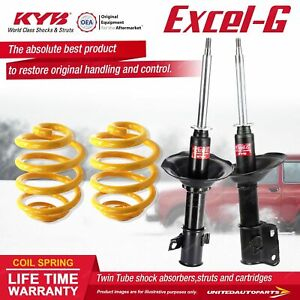 Front KYB EXCEL-G Shock Absorbers Lowered King Spring for SUBARU Impreza GC3 5 6