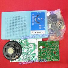 Superheterodyne Radio Receiver Board DIY Kits 6 Transistor + Schmatics + Case