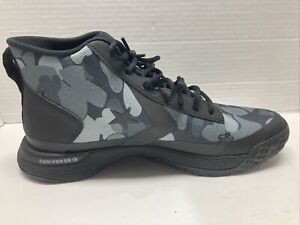 Converse x Tinker Hatfield Star Series BB Black Camo Basketball Shoes 166441C 12