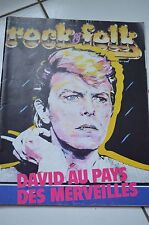 REVUE COLLECTION ** DAVID BOWIE ** ROCK FOLK - ANNEE 1985 - N°218