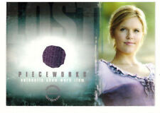 """LOST Season 1 Premium Pieceworks Trading Card PW-3 Maggie Grace """"Shannon"""""""