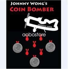 Coin Bomber (Morgan Coin) by Johnny Wong Coin Magic Tricks