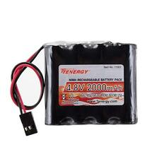 Tenergy 4.8V 2000mAh NiMH RX Receiver Battery Hitec for RC Receivers Transmitter