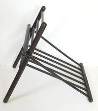Vintage Wooden Wood Gout Foot Stool / Leg Rest Medical Ottoman Furniture