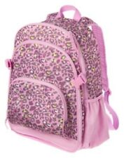Gymboree Purple Heart Leopard Backpack w/ clips Nwt
