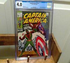 Captain America 117 CGC 4.0 1st Falcon