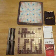 Scrabble Crossword Deluxe Edition TurnTable 100% Complete 2001 Hasbro Parker Bro