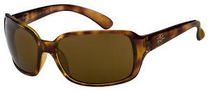 Ray-Ban Sunglasses RB4068 642/57 60 Havana | Brown Classic B-15 Polarized Lens