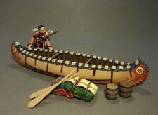 John Jenkins Designs Soldiers Woodland Indian With Canoe Limited Edition CAN-05