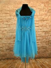 Blumen-Mädchen Kleid Kinder Schal Festkleid Hochzeit Kommunionkleid Gr. 80-152