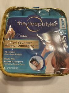 The sleep styler large 8 Rollers - 6 Inch Brand New