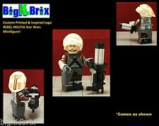 REBEL MILITIA Custom Printed & Inspired Lego Star Wars Minifigure